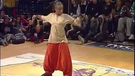 jd2007 Popping 8进4 Claire Jessica VS Hassan  Mehdi