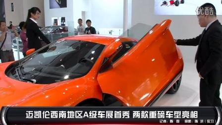 迈凯伦西南地区A级车展首秀 两款重磅车型亮相
