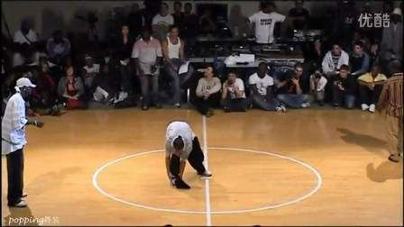 jd2006 popping 8进4 Salah Iron Mike vs Popula J Rock