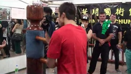 刘师傅指导世界级MMA选手咏春拳 part 2