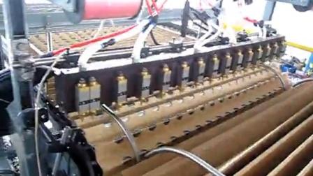 多点流线热熔胶枪, 热熔胶自动点胶枪,热熔胶自动化设备
