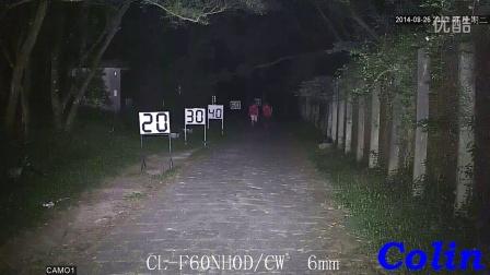 科宁摄像机 网络高清 100万 6灯 白光夜视实际测试效果(请选择超清模式观看)