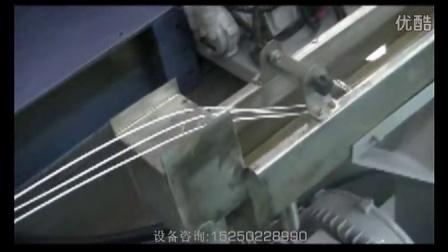小型双螺杆水拉条造粒机(工艺演示)