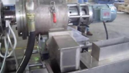TPE双螺杆水环热切造粒机
