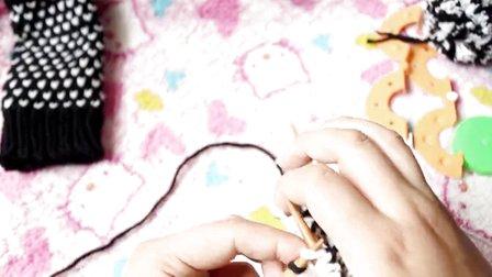 编织365教你可爱女生手套的织法