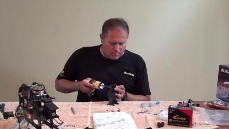 Trex 550L Build Part 1 Session 2 of 3