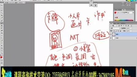 第一弹:韩式风格卡牌解析与构思绘制   名动漫原画插画教学视频
