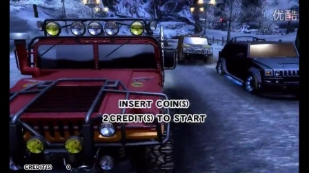 SEGA悍马赛车HUMMER 赛车模拟游戏机