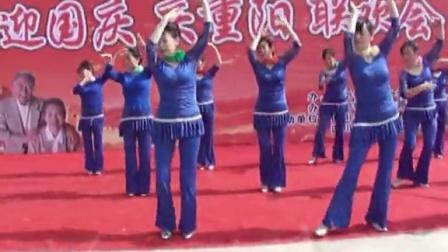 913厂退管站舞蹈队2014国庆重阳表演节目