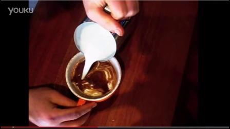 kafei拉花视频分享-吧台咖啡拉花-新手开始学拉花