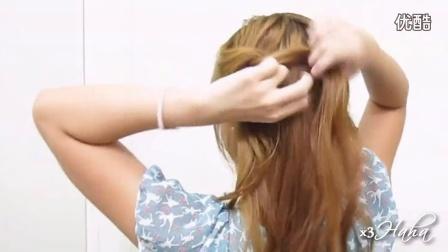 【尚范儿美发】两分钟如何编织清纯韩式公主发型