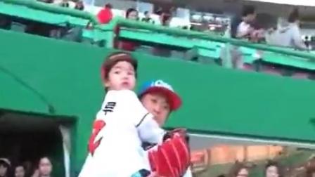 李haru打棒球