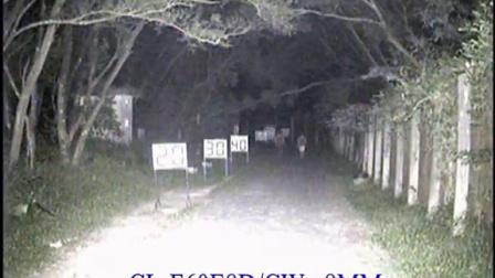 科宁摄像机 模拟E8 6灯 白光夜视实际测试效果(请选择超清模式观看)