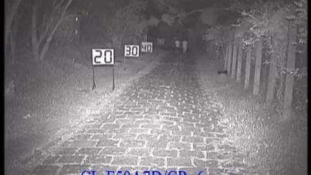 科宁白光摄像机 模拟700线 3灯 夜视实际测试效果(请选择超清模式观看)