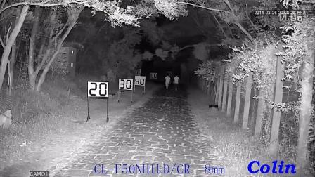 科宁摄像机 网络高清 130W 3灯 红外夜视实际测试效果(请选择超清模式观看)