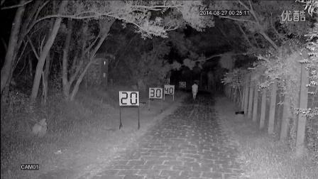 科宁摄像机 模拟高清 AHD 100W 6灯 红外夜视实际测试效果(请选择超清模式观看)