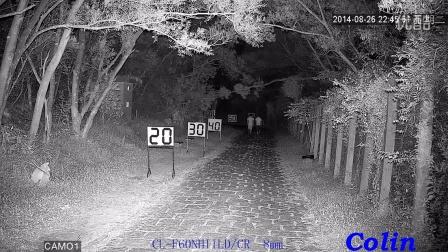 科宁摄像机 网络高清 200万 6灯 红外夜视实际测试效果(请选择超清模式观看)