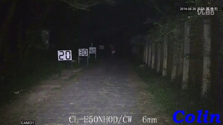 科宁摄像机 网络高清 100万 3灯 白光夜视实际测试效果(请选择超清模式观看)