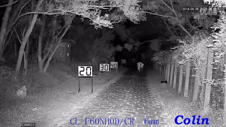 科宁摄像机 网络高清 100万 6灯 红外夜视实际测试效果(请选择超清模式观看)