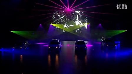 厦门福州泉州漳州演出舞蹈表演英菲尼迪开启Q纪元最炫激光秀