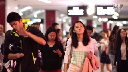 2014申通德高OLAY上海地铁创意媒体广告