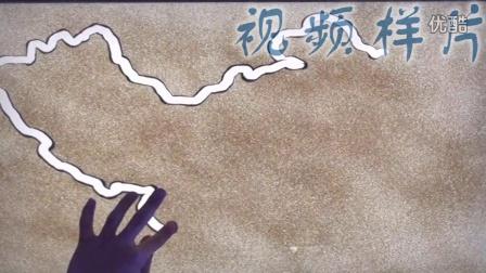 爱默生电梯沙画表演-[中礼演艺]