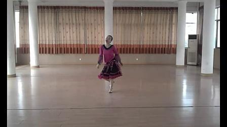 格格原创广场舞《雪山姑娘》含正背面及口令视频_1024x576_2.00M_h.264