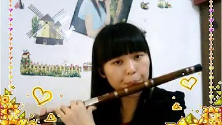 白狐-笛子-紫珞