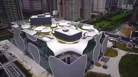 20141125城市の獵人- 台中- 大都會歌劇院 國家歌劇院 空中攝影 空拍 M690 1080P