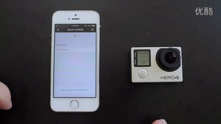 gopro hero 4 最近APP下载设置,wifi连接gopro4操作教程
