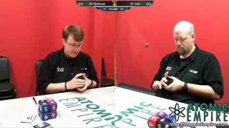 The Glassiest of Cannons Grudge Match - Dr. Science (Aaron Lacluyze) v El Jefe (