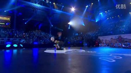 【5BBOY】Lil G vs Cheerito - Battle 6 - Red Bull BC One World Final 2014 Paris (1)