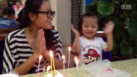给妈妈庆祝生日