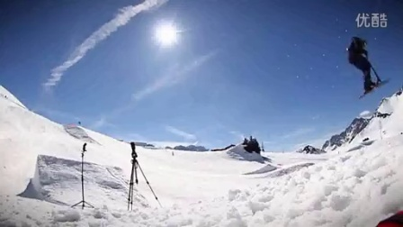 SNOWSCOOT 2014 BENJAMIN FRIANT Micro Black Ice Promo