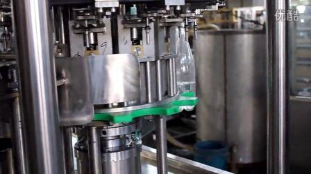 DCGF14-12-4  PET瓶含气饮料冲洗灌装旋盖三合一      Триблок газированного розлива