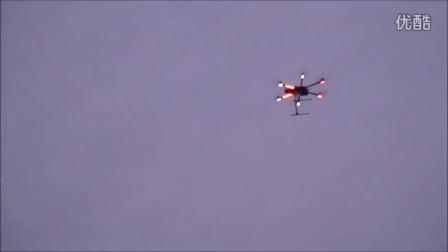 M-690L 加裝飛行辨識燈試飛