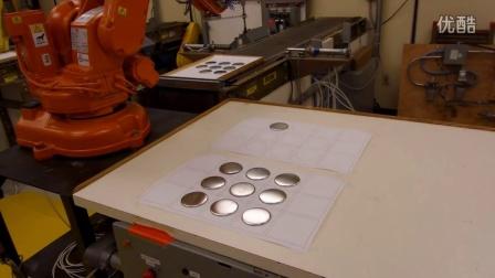 2013版ABB IRB-140机器人简单坐标测试