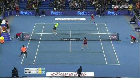 2014 IPTL Bopanna _ Federer _ Mirza vs Zimonjic _ Mladenovic [Full HD] - YouTube