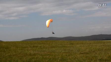 于清河动力伞飞行