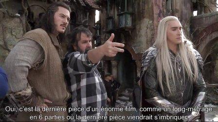 LE HOBBIT 3 _ La Bataille des Cinq Armées - Interview VOST Cinéma