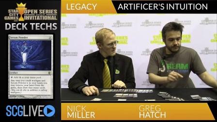 SCGINVI - Deck Tech- Artificer's Intuition with Greg Hatch