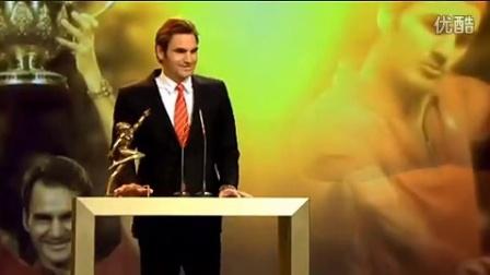 费德勒勇夺2014瑞士年度最佳男运动员奖-颁奖典礼