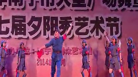 舞蹈《红色娘子军大刀舞》民族舞二等奖_标清