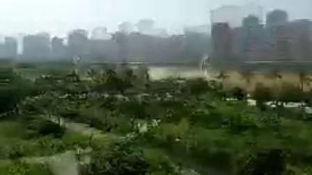 B023福建泉州南安武荣公园航拍风光片