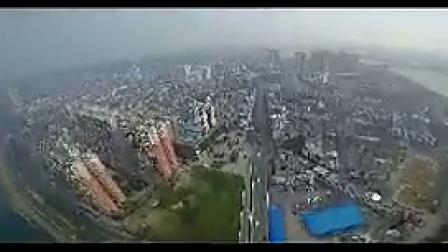 B047湖南永州城市航拍地标建筑大桥风光片