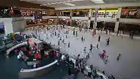 B057上海某商业购物中心娱乐溜冰延时