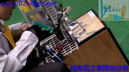 2013年日本信息网络布线网线速度赛片段