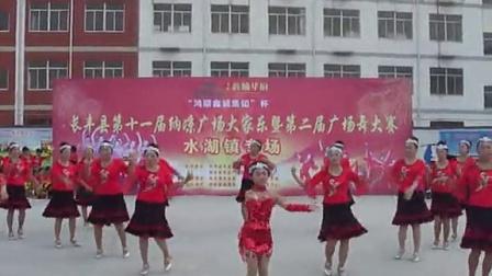 长丰县朱巷镇第二届广场舞大赛二等奖