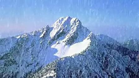 A025雪山自然风光延时