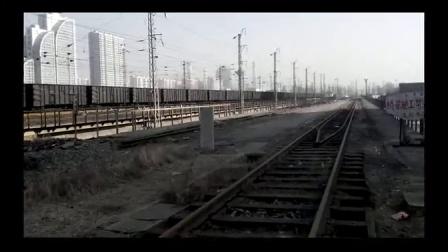 京哈线火车迷首次探访大秦铁路源头站-秦皇岛东站附近看车